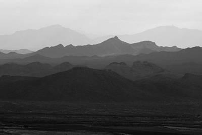 Photograph - Picacho Desert View by Daniel Woodrum