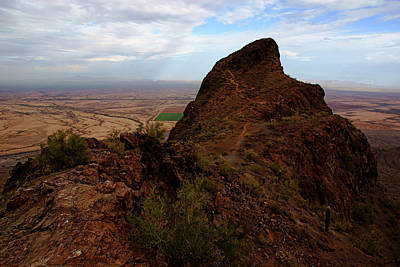 Photograph - Picacho Peak View by Daniel Woodrum