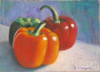 Pastel - Pick A Pepper by Laurie Morgan