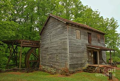 Old Mills Photograph - Pickens County Grist Mill by Adam Jewell