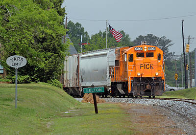 Photograph - Pickens Railroad Belton South Carolina by Joseph C Hinson Photography