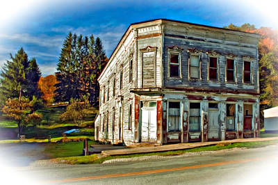 Us Photograph - Pickens Wv Painted by Steve Harrington