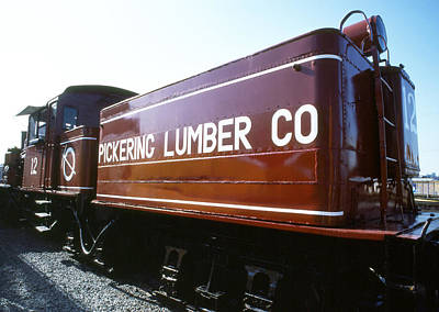 Photograph - Pickering Lumber Co No 12 by Robert  Rodvik