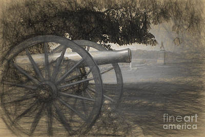 Civil War Cannon Balls Photograph - Pickette's Charge by Paul W Faust -  Impressions of Light