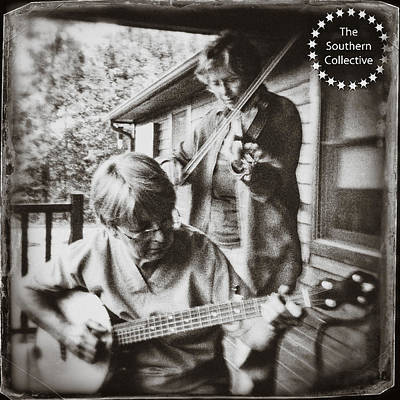 Photograph - Pickin' And Fiddlin' On The Porch by Paul Cutright
