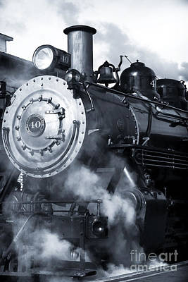 Photograph - Picking Up Steam by John Rizzuto