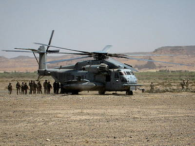 Afghanistan Photograph - Picking Up Troops In Afghanistan by Jetson Nguyen