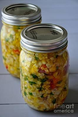 Photograph - Pickled Corn Salad by Maureen Cavanaugh Berry