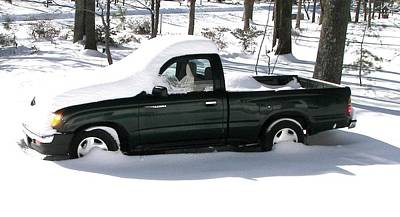 Photograph - Pickup In The Snow by Pamela Hyde Wilson