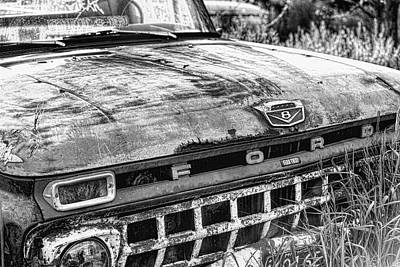 Photograph - Pickup Truck 2 by John Crothers
