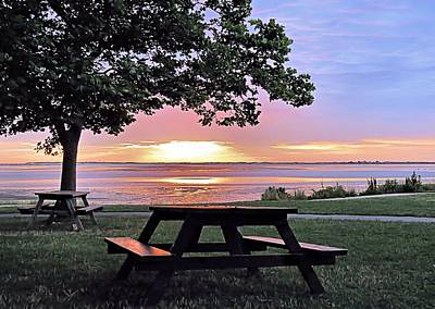 Photograph - Picnic Sunrise by Janice Drew