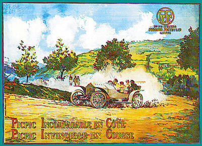 Photograph - Picpic Incomparagle En Cote by Vintage Automobile Ads and Posters