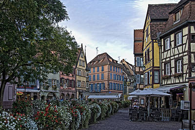Alsace Photograph - pictorial Colmar by Joachim G Pinkawa