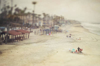 Pictorialism Photograph - Pictorialism Style Of Oceanside Beach by Roberta Murray