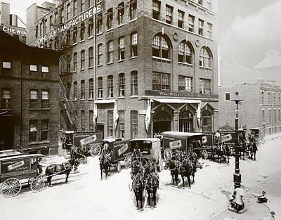 Picture 1 - Michigan Avenue 1901 Art Print