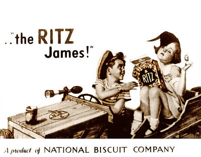 Picture 17- New- The Ritz James Art Print
