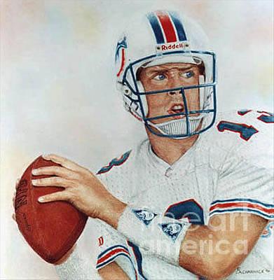 Picture Of Dan Marino Miami Dolphins Greatest Qb Original by LA Cline