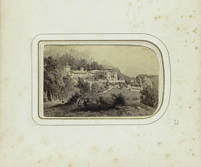 Picture Of The Royal Villa In Berchtesgaden Art Print