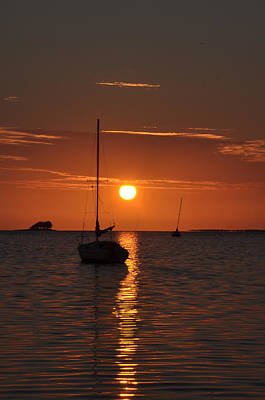 Key West Digital Art - Picture Perfect Sunset by Bill Cannon