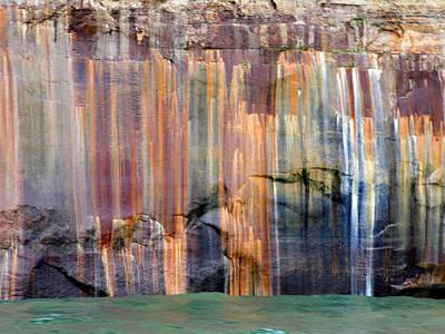 Photograph - Pictured Rocks 6 by Robert Lozen