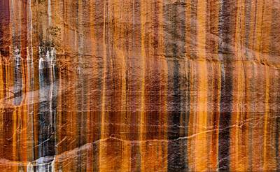 Photograph - Pictured Rocks Vibrant Layers by Dan Sproul