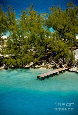 Bahamas Pier Photograph - Picturesque Dock Nassau Bahamas by Amy Cicconi