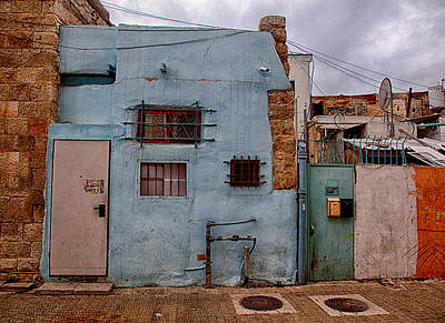 Photograph - Picturesque Facades by Uri Baruch
