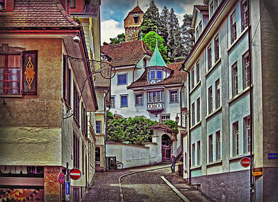 Photograph - Picturesque Old Town by Hanny Heim