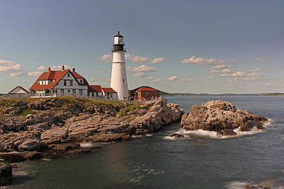 Picturesque Portland Head Light Art Print by Juergen Roth