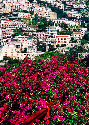 Photograph - Picturesque Positano by Donna Proctor