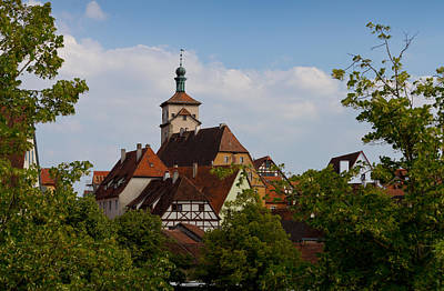 Photograph - Picturesque Rothenburg by Jenny Setchell