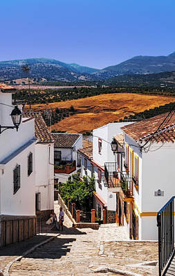 Photograph - Picturesque Streets Of Ronda I. Spain by Jenny Rainbow