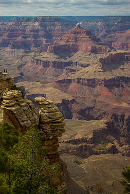 Picturesque View Of The Grand Canyon Art Print