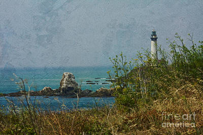 Photograph - Pidgeon Point Lighthouse by Kay Pickens
