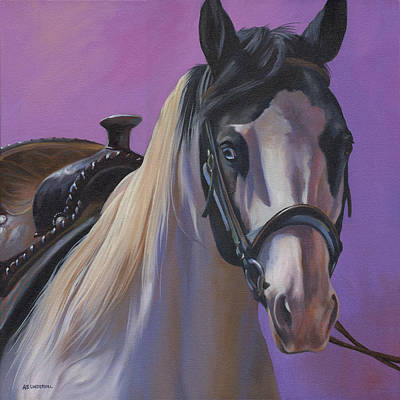Painting - Piebald by Alecia Underhill