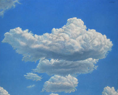 Painting - Piece Of Sky 3 by James W Johnson
