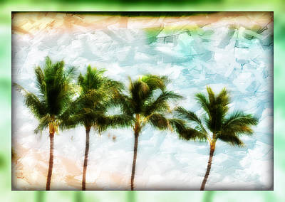 Pieced Paradise Art Print