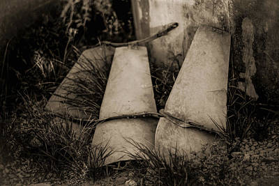 Photograph - Pieces Of The Windmill by Amber Kresge