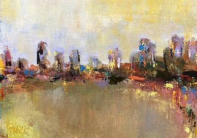 Painting - Piedmont Park by Kathy Stiber