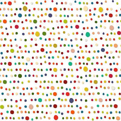 Dot Drawing - Piedra by Sharon Turner