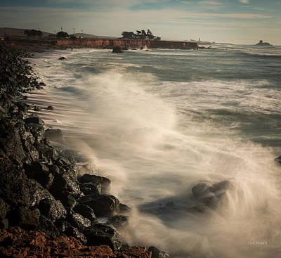 Photograph - Piedras Afternoon....... San Simeon by Tim Bryan