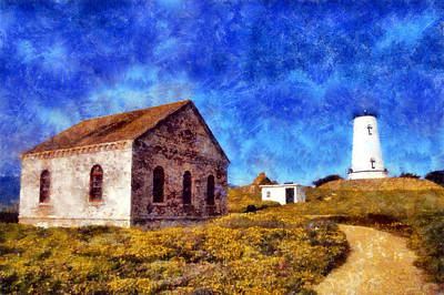 Digital Art - Piedras Blancas Light by Kaylee Mason