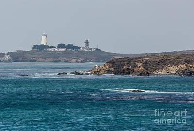 Piedras Blancas Lighthouse A2155 Art Print by Stephen Parker
