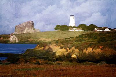 Photograph - Piedras Blancas Lighthouse by Donna Kennedy