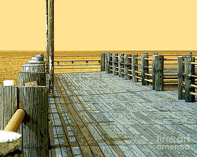 Photograph - Pier 1 Image A by Lee Owenby