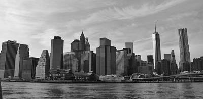 Photograph - Pier 17 New York City by Bruce Bley