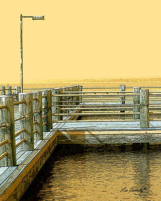 Pier Photograph - Pier 2  Image A by Lee Owenby