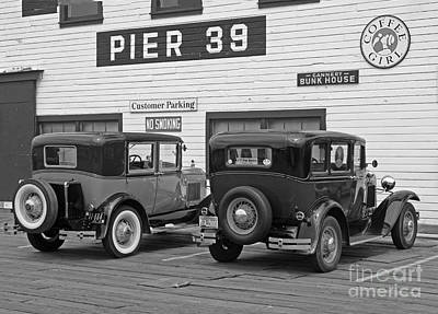 39 Ford Photograph - Pier 39 Bunk House  by Steven Baier