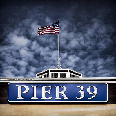 Pier 39 Art Print by Dave Bowman