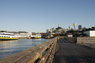 Photograph - Pier 39 by Kimberly Oegerle